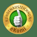 EKOMI-Kundenauszeichnung