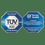 TÜV-Siegel Servicequalität