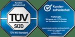 TÜV-Siegel Kundenzufriedenheit