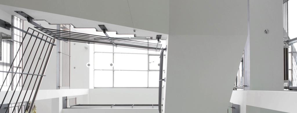 Mehrstöckiges Treppenhaus